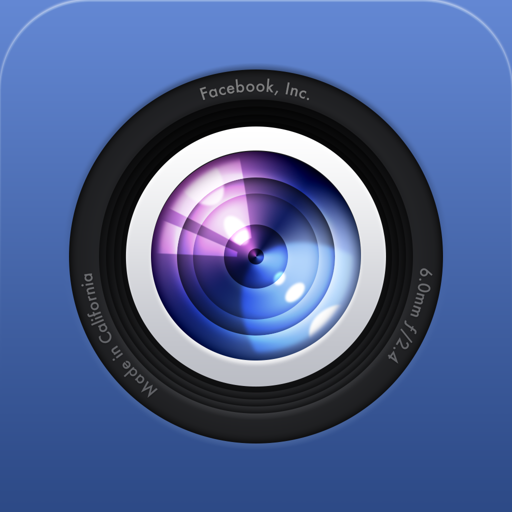 facebook mobile camera